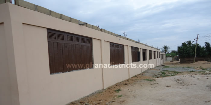 Completed 6 Unit Classroom Block At Weija Methodist