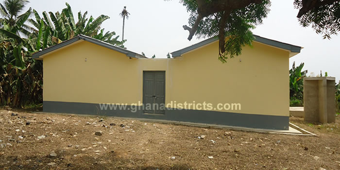 CHPS Compound completed at Kofi Kwei