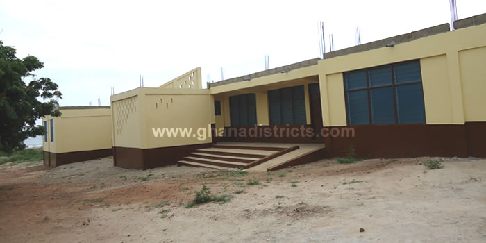Completed 6 Unit Classroom Block Bortianor